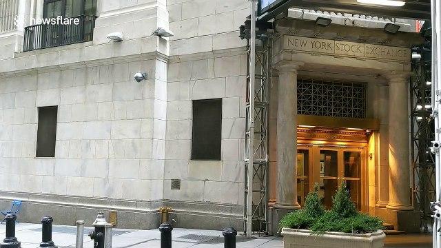 Eerily quiet Wall Street as stocks take worst drubbing since '08 amid Coronavirus panic