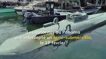 Cinq tonnes de cocaïne saisies dans un sous-marin artisanal au large du Panama