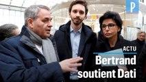 Municipales à Paris : Rachida Dati s'affiche avec Xavier Bertrand à la gare du Nord