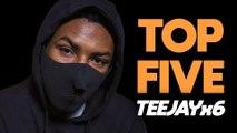 Teejayx6 breaks down his Top Five Black Air Force 1 Activities