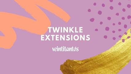 Extensiones de glitter: la tendencia que llenará tu cabello de brillo sin maltratarlo.