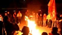 Orange : la CGT manifeste contre la répression syndicale