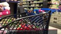 Covid-19 : les supermarchés pris d'assaut