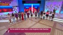 ¡La Bebeshita, Serrath y todas las mujeres del programa hicieron una cadena de amor! | Enamorándonos