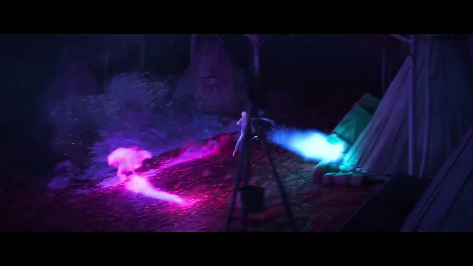 Frozen 2 Movie Clip Elsa Meets Bruni The Fire Spirit Salamander Video Dailymotion