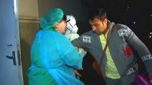 'Healthy' Coronavirus Patient Pulled Back Into Hospital During Interview