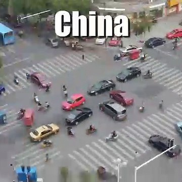Intersections in China Ethiopia India and Vietnam