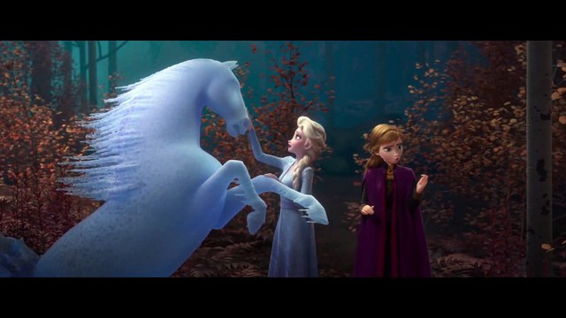 Frozen 2 film clip - Elsa fights with the Air Spirit