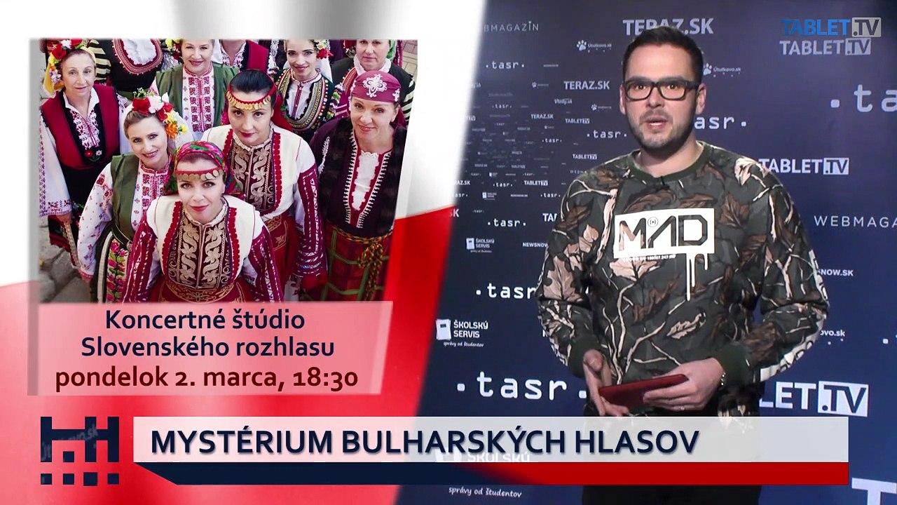 POĎ VON: Mystérium bulharských hlasov a výstava o bývaní v Starej radnici