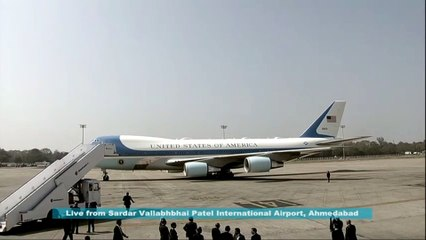 Us president  Donald Trump visit India EP1