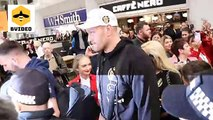 Tyson Fury gets hero's welcome in Manchester