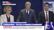 """""""Nous allons considérer le coronavirus comme un cas de force majeure pour les entreprises"""" annonce Bruno Le Maire"""