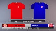 Match Preview: Monaco vs Reims on 29/02/2020