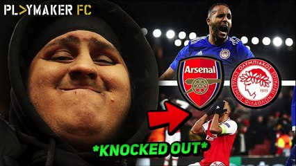 Reactions | Arsenal 1-2 Olympiakos: Live reaction to the final 5 minutes of a Greek Tragedy
