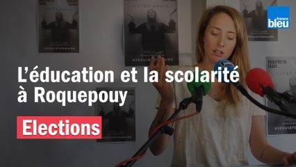 Municipales 2020 : une école en libre-service, pour une ville éduquée à Roquepouy