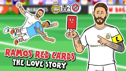 LOLs | Real Madrid 1-2 Man City: Sergio Ramos LOVES red cards