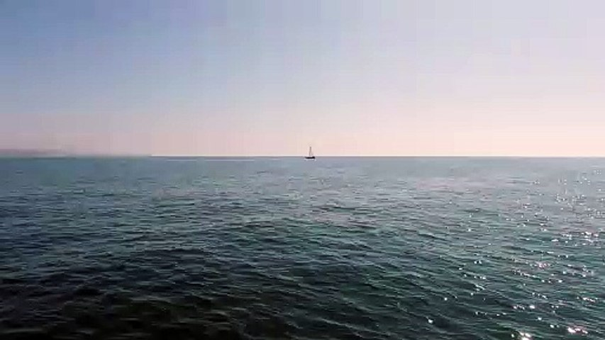 Drone view - boat