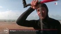 Tempêtes : les côtes bretonnes impactées par les tempêtes