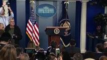 Us President Donald Trump news conference on Coronavirus with CDC P2
