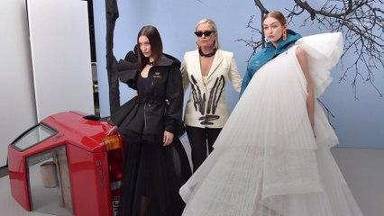Yolanda Hadid Just Walked the Runway Alongside Gigi and Bella