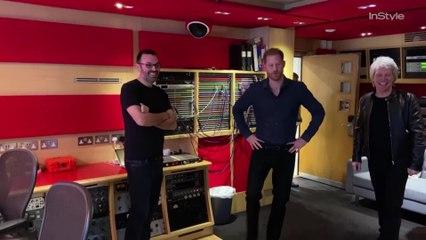 Prince Harry Visits Abbey Road Studios with Bon Jovi