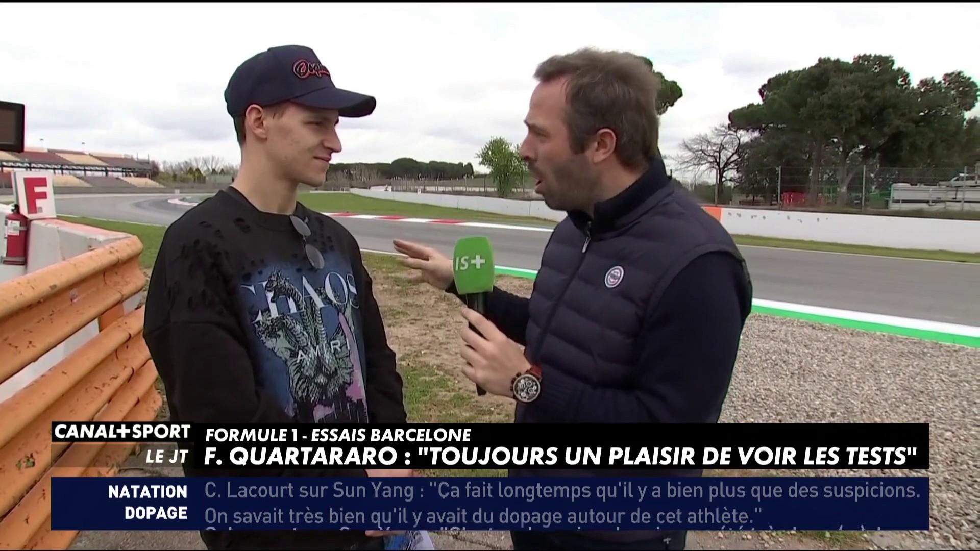 Fabio Quartararo amateur de F1 - DailySport