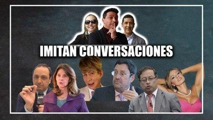 En imitación, 'Pacho Santos' le pide puesto a 'Norberto', ¿lo confundió con ministra?