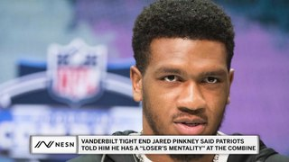 Patriots Tell NFL Draft Prospect He Has A Loser's Mentality