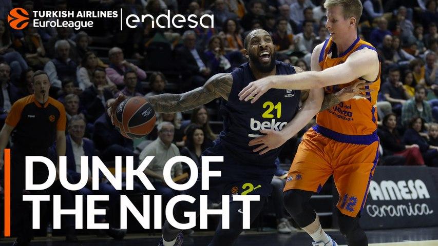 Endesa Dunk of the Night: Derrick Wiliams, Fenerbahce Beko Istanbul