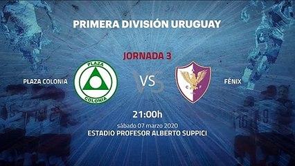 Previa partido entre Plaza Colonia y Fénix Jornada 3 Apertura Uruguay
