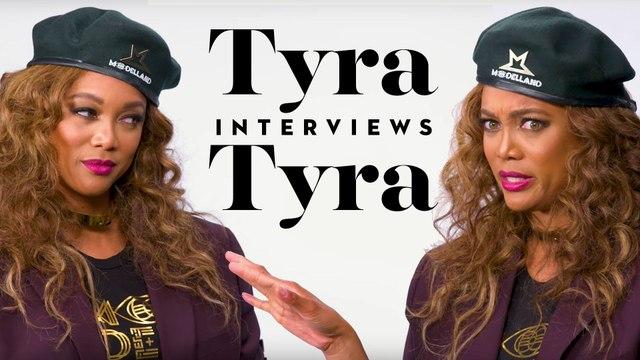 Tyra Banks Interviews Tyra Banks
