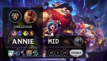 Annie Mid vs Diana - NA Challenger Patch 10.4
