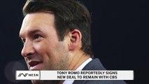 Tony Romo, CBS Reportedly Agree On Historically Massive Contract