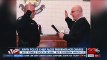 Arvin Police Chief Faces Midemeanor Charge, required officers to unrelated work favors