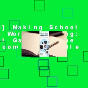 [Read] Making School a Game Worth Playing: Digital Games in the Classroom  For Kindle