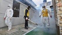 Risk of coronavirus spreading globally now 'very high', World Health Organisation says
