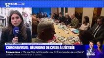 Coronavirus: Emmanuel Macron réunit les ministres pour des réunions de crise à l'Élysée