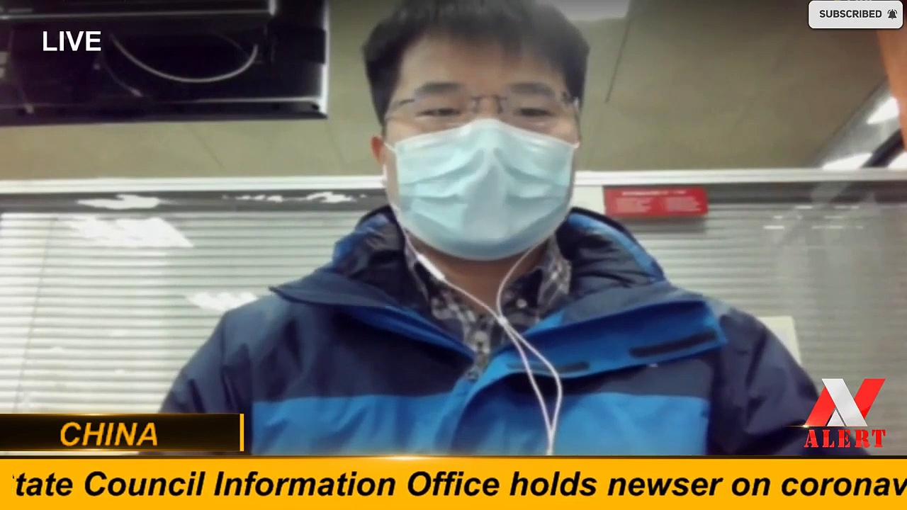 Wuhan's State Council Information Office holds newser on coronavirus — CHINA
