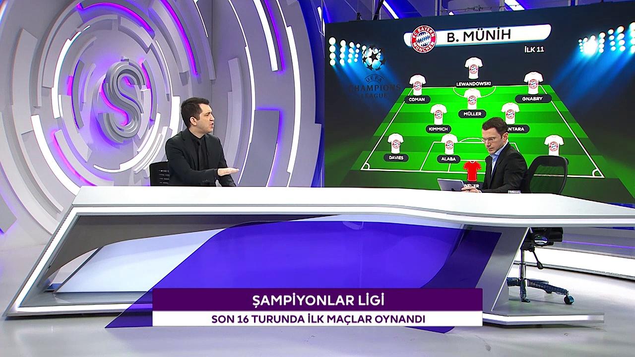 Emre Özcan ve Ali Erim'den Şampiyonlar Ligi Son 16 Turu Değerlendirmesi