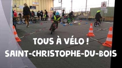 TAVCA - Journée Tous à vélo ! A Saint-Christophe-du-Bois