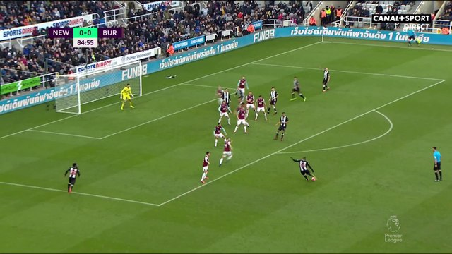 Le résumé de Newcastle / Burnley - Premier League