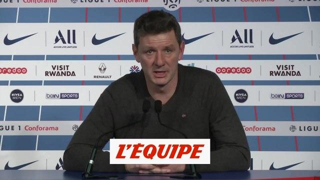 Jobard «J'ai aimé la discipline de mes joueurs» - Foot - L1 - Dijon