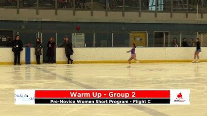 Pre-Novice Women Short Program - Flight C 2020 Calgary Winter Combined Invitational - Rockyview County Arena
