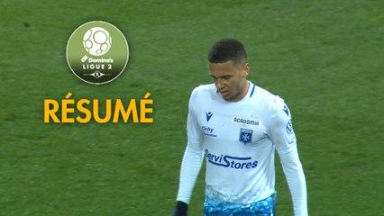 AJ Auxerre - Chamois Niortais (3-1)  - Résumé - (AJA-CNFC) / 2019-20