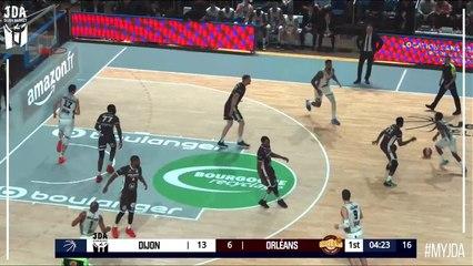 Richard Solomon Points, Blocks in Dijon vs. Orleans