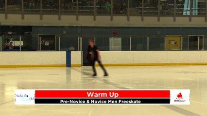 Pre-Novice/Novice Men Freeskate 2020 Calgary Winter Combined Invitational - Rockyview County Arena
