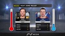 David Pastrnak Extends NHL Lead In Goals As Bruins Swamp Islanders