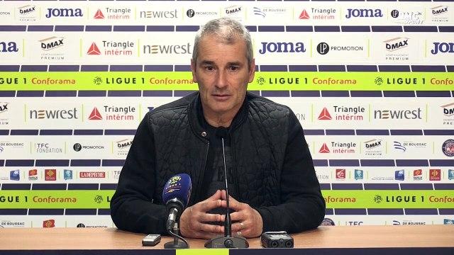 """Toulouse - Rennes : Zanko """"très agacé"""" par les erreurs de son équipe"""