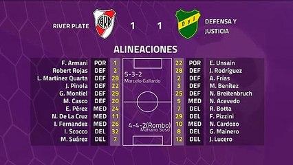 Resumen partido entre River Plate y Defensa y Justicia Jornada 22 Superliga Argentina