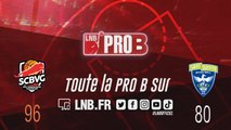PRO B : Saint-Chamond vs Saint-Quentin (J21)